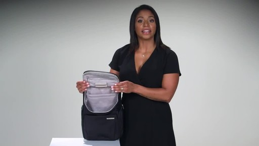 Briggs & Riley Sympatico Small U-Zip Backpack - image 7 from the video