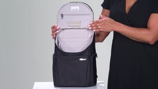 Briggs & Riley Sympatico Small U-Zip Backpack - image 8 from the video