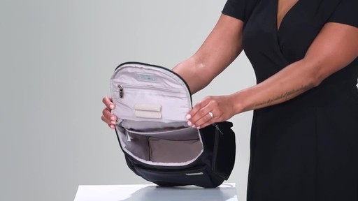 Briggs & Riley Sympatico Small U-Zip Backpack - image 9 from the video