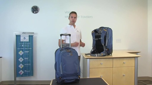 Eagle Creek Flip Switch Wheeled Backpack - image 2 from the video