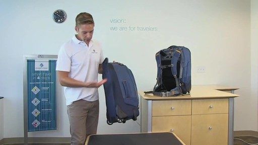 Eagle Creek Flip Switch Wheeled Backpack - image 4 from the video