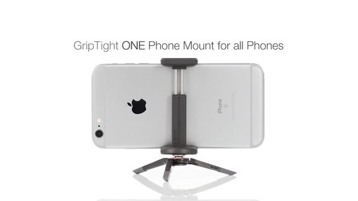 Joby GripTight ONE Mount - image 10 from the video