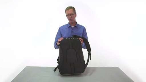 eBags Stash Laptop Backpack - on eBags.com - image 3 from the video