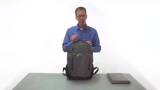 eBags Stash Laptop Backpack - on eBags.com - image 6 from the video