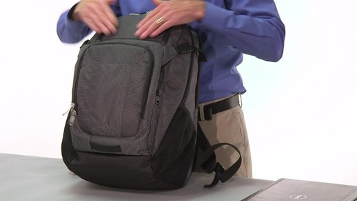 eBags Stash Laptop Backpack - on eBags.com - image 8 from the video