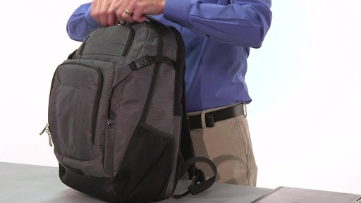 eBags Stash Laptop Backpack - on eBags.com - image 9 from the video