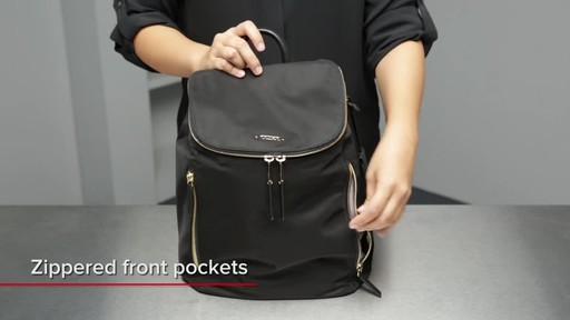 Tumi Voyageur Bryce Backpack - image 5 from the video