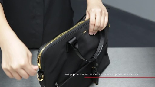 Tumi Voyageur Tina Laptop Carrier - image 7 from the video