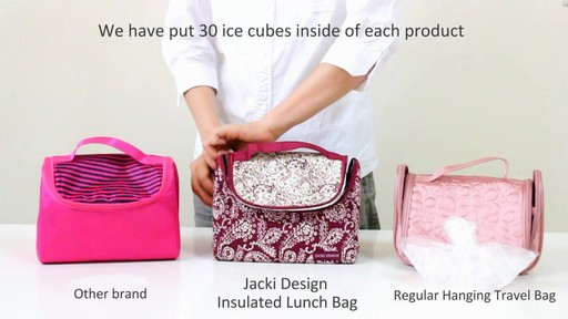 Jacki Design Insulated Lunch Bag - eBags.com - image 2 from the video
