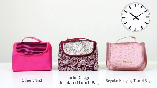 Jacki Design Insulated Lunch Bag - eBags.com - image 3 from the video