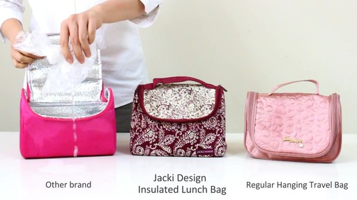 Jacki Design Insulated Lunch Bag - eBags.com - image 6 from the video