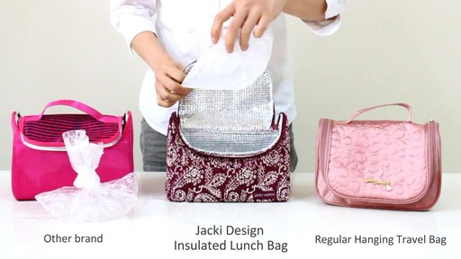 Jacki Design Insulated Lunch Bag - eBags.com - image 7 from the video