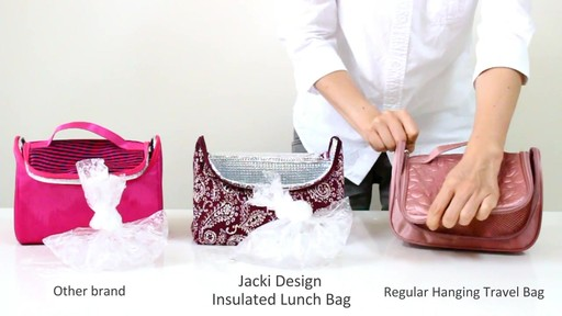 Jacki Design Insulated Lunch Bag - eBags.com - image 8 from the video