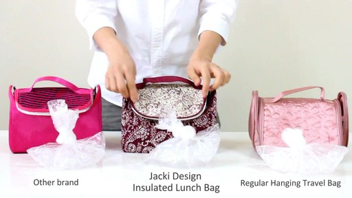 Jacki Design Insulated Lunch Bag - eBags.com - image 9 from the video