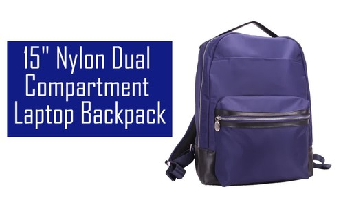 McKlein USA Parker Laptop Backpack - image 2 from the video