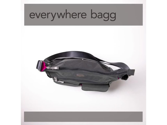 baggallini Everywhere Shoulder Bag with RFID - image 3 from the video