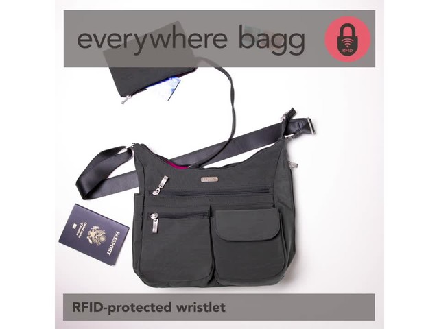 baggallini Everywhere Shoulder Bag with RFID - image 7 from the video