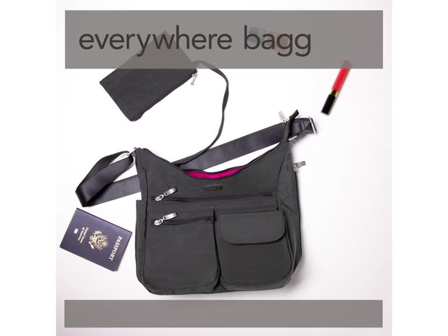 baggallini Everywhere Shoulder Bag with RFID - image 8 from the video