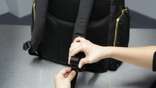 Tumi Voyageur Ari Tumi T-Pass Backpack - image 1 from the video