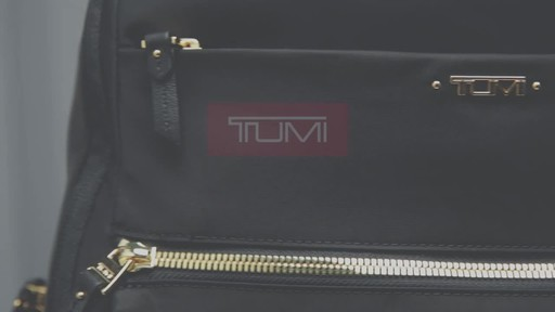 Tumi Voyageur Ari Tumi T-Pass Backpack - image 10 from the video