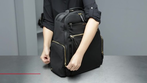 Tumi Voyageur Ari Tumi T-Pass Backpack - image 3 from the video