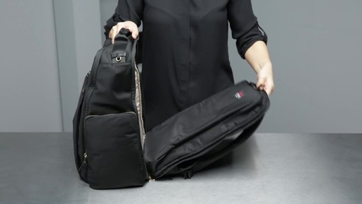 Tumi Voyageur Ari Tumi T-Pass Backpack - image 6 from the video
