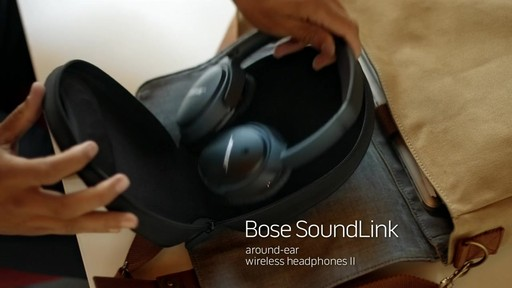 Bose SoundLink AE II Headphones - Shop eBags.com - image 1 from the video