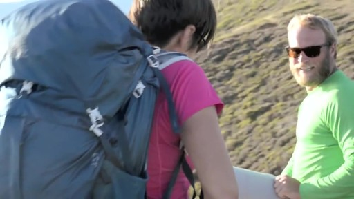 Gregory Women's J 38 Hiking Backpack  - image 7 from the video