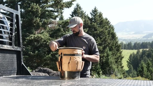 Carhartt Bucket Cooler - image 7 from the video