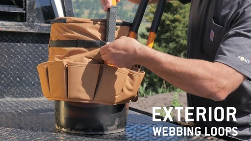 Carhartt Bucket Cooler - image 9 from the video