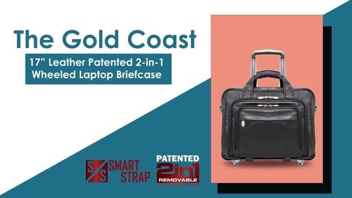 McKlein USA Gold Coast Leather Wheeled 17