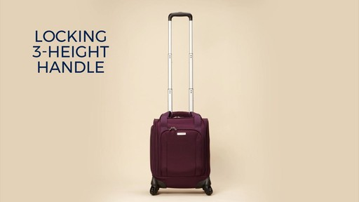 1aee1470b24ca Samsonite Spinner Underseater with USB Port eBags Exclusive - image 1 from  the video