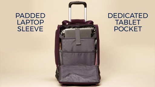 Samsonite Spinner Underseater with USB Port eBags Exclusive - image 5 from the video