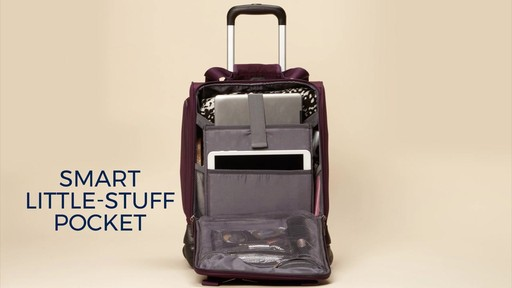 Samsonite Spinner Underseater with USB Port eBags Exclusive - image 6 from the video