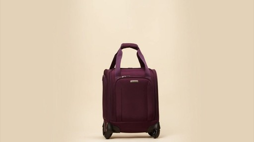 Samsonite Spinner Underseater with USB Port eBags Exclusive - image 9 from the video