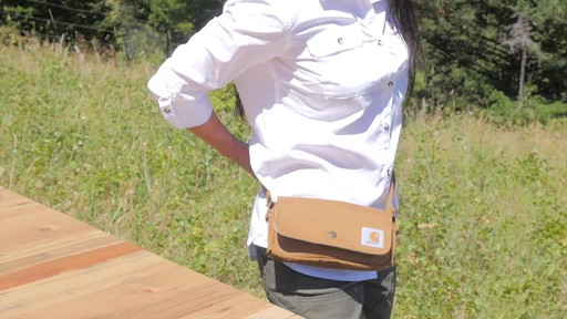 Carhartt Women's Essentials Pouch - image 10 from the video