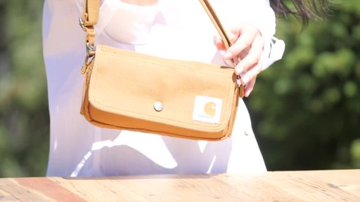 Carhartt Women's Essentials Pouch - image 3 from the video