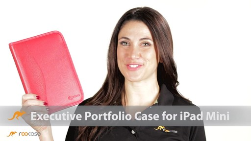 rooCASE Executive Leather Case for Apple iPad Mini - image 1 from the video