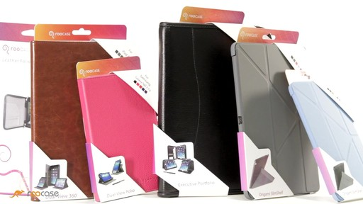 rooCASE Executive Leather Case for Apple iPad Mini - image 8 from the video