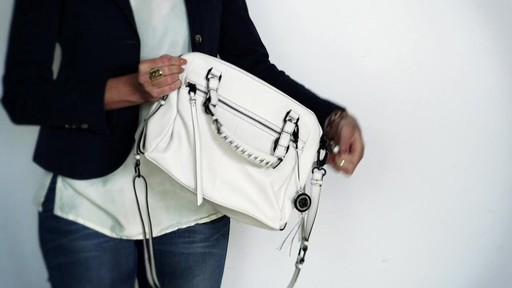 Elliott Lucca | Olviera Zip Satchel - image 6 from the video