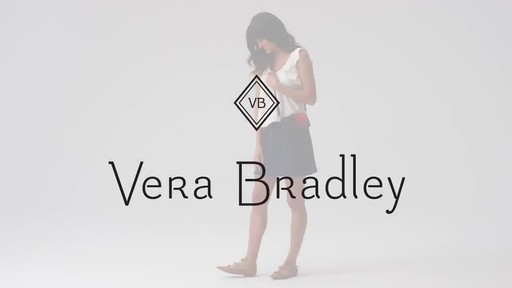 Vera Bradley Iconic RFID All in One Crossbody - image 10 from the video