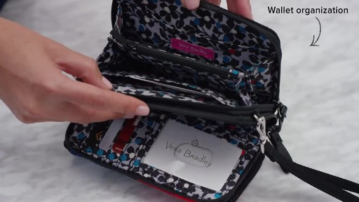 Vera Bradley Iconic RFID All in One Crossbody - image 3 from the video