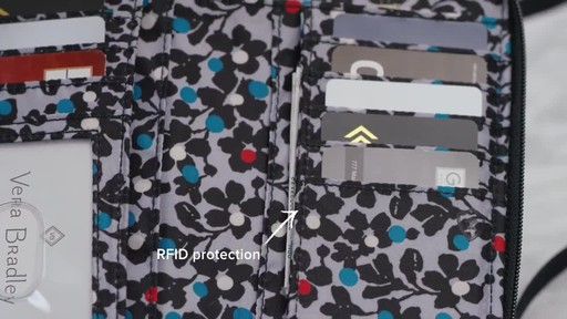 Vera Bradley Iconic RFID All in One Crossbody - image 4 from the video