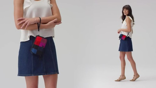 Vera Bradley Iconic RFID All in One Crossbody - image 7 from the video