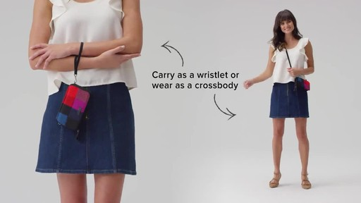 Vera Bradley Iconic RFID All in One Crossbody - image 8 from the video