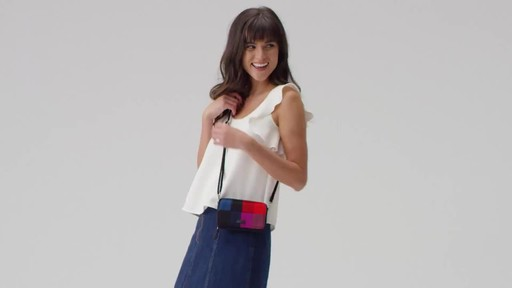 Vera Bradley Iconic RFID All in One Crossbody - image 9 from the video