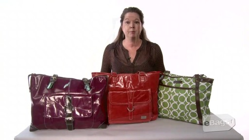 Women's Laptop Bags - Don't Carry a Boring Black  Bag - image 10 from the video