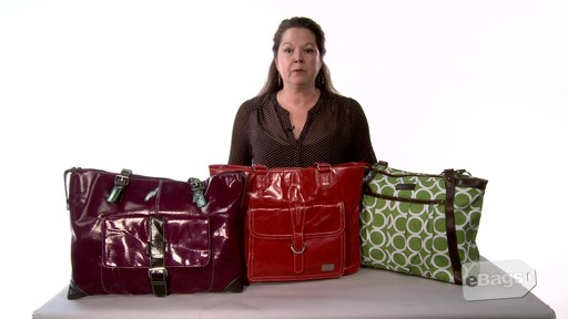 Women's Laptop Bags - Don't Carry a Boring Black  Bag - image 2 from the video