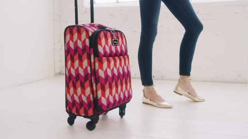 Vera Bradley 22 Spinner Carry-on - Shop eBags.com - image 2 from the video