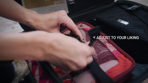 Vera Bradley 22 Spinner Carry-on - Shop eBags.com - image 5 from the video